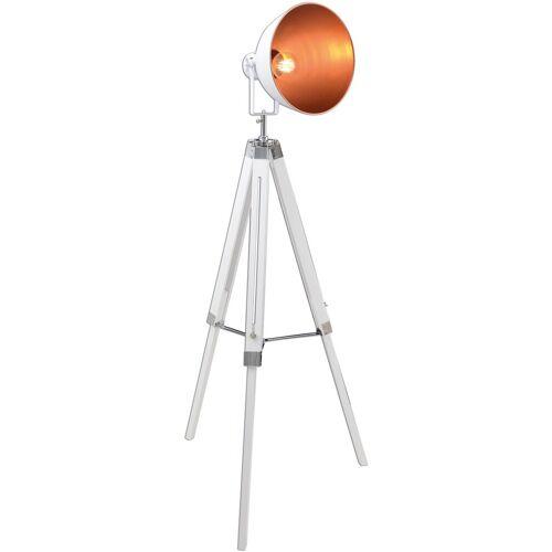 näve Stehlampe, E27 1 flg., Ø 30 cm Höhe: 110 weiß Stehlampe Standleuchten Stehleuchten Lampen Leuchten