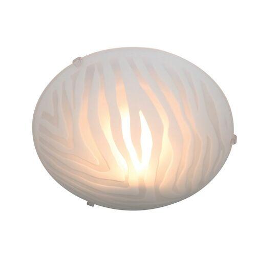 näve Deckenleuchte, E27, Deckenlampe 1 flg., Ø 30 cm Höhe: 10 weiß Deckenleuchte Deckenleuchten Lampen Leuchten sofort lieferbar