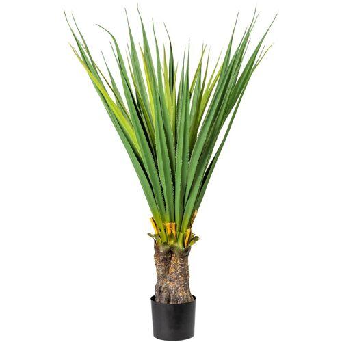 Creativ green Künstliche Zimmerpflanze Aloe B/H: 59 cm x 130 grün Zimmerpflanzen Kunstpflanzen Wohnaccessoires