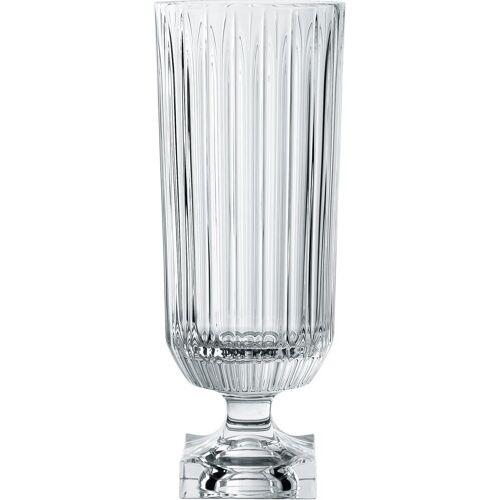 Nachtmann Dekovase Minerva, Kristallglas B/H/T: 16 cm x 40,3 Ø farblos Blumenvasen Pflanzgefäße Wohnaccessoires