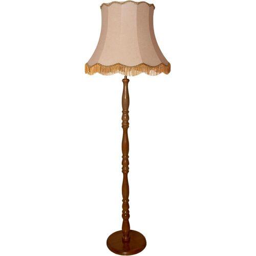 Stehlampe, E27 2 flg., Ø 55 cm Höhe: 172 braun Stehlampe Standleuchten Stehleuchten Lampen Leuchten