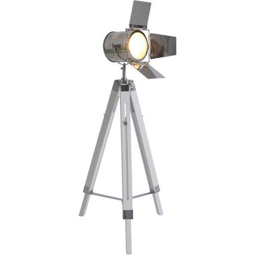 näve Stehlampe, E27 1 flg., Ø 44 cm Höhe: 100 weiß Stehlampe Standleuchten Stehleuchten Lampen Leuchten