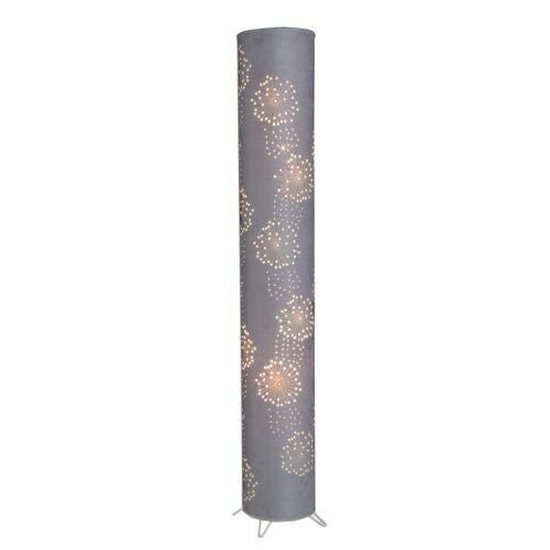 näve Stehlampe, E14 2 flg., Ø 18 cm Höhe: 120 grau Stehlampe Standleuchten Stehleuchten Lampen Leuchten