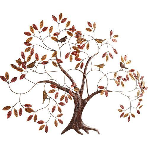 Home affaire Wanddekoobjekt Baum, Wanddeko, Wanddekoration, aus Metall B/H/T: 121 cm x 87 9 braun Wanddekoration Deko Wohnaccessoires