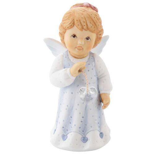 Goebel Engelfigur Du bist wundervoll so wie bist, mit Kristallherz B/H/T: 4,5 cm x 8,5 4 blau Sammlerfiguren Figuren Skulpturen Wohnaccessoires