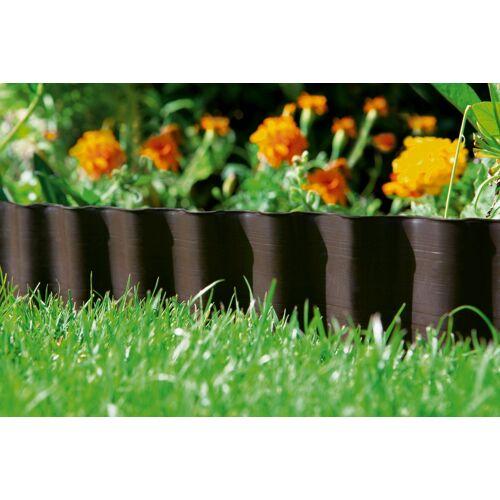GARDENA Beetbegrenzung L/H: 900 cm x 9 braun Rasen- Gartendekoration Gartenmöbel Gartendeko