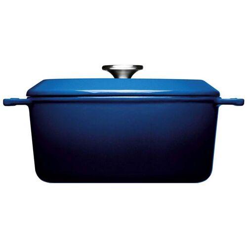 WOLL Kochtopf Iron, Gusseisen, (1 tlg.), Ø 24 cm, Induktion cm blau Suppentöpfe Töpfe Haushaltswaren