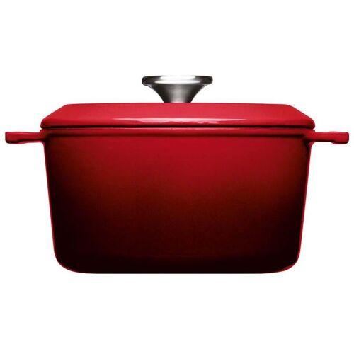 WOLL Kochtopf Iron, Gusseisen, (1 tlg.), Ø 20 cm, Induktion cm rot Suppentöpfe Töpfe Haushaltswaren