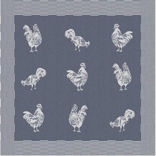DDDDD Geschirrtuch Good morning, (Set, 6 tlg.) tlg., 100 % Baumwolle blau Geschirrtücher Küchenhelfer Haushaltswaren