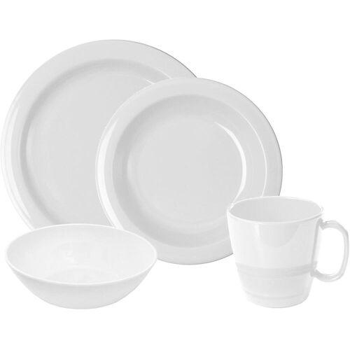 WACA Frühstücks-Geschirrset, (Set, 8 tlg.) Einheitsgröße weiß Frühstücks-Geschirrset Frühstücksset Eierbecher Geschirr, Porzellan Tischaccessoires Haushaltswaren