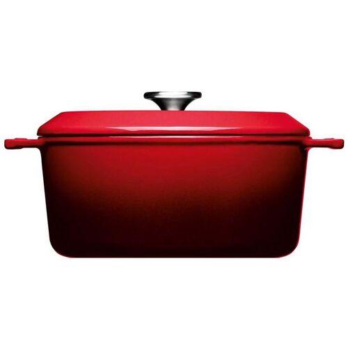 WOLL Kochtopf Iron, Gusseisen, (1 tlg.), Ø 24 cm, Induktion cm rot Suppentöpfe Töpfe Haushaltswaren