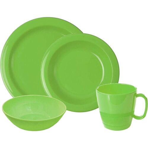 WACA Frühstücks-Geschirrset, (Set, 8 tlg.) Einheitsgröße grün Frühstücks-Geschirrset Frühstücksset Eierbecher Geschirr, Porzellan Tischaccessoires Haushaltswaren