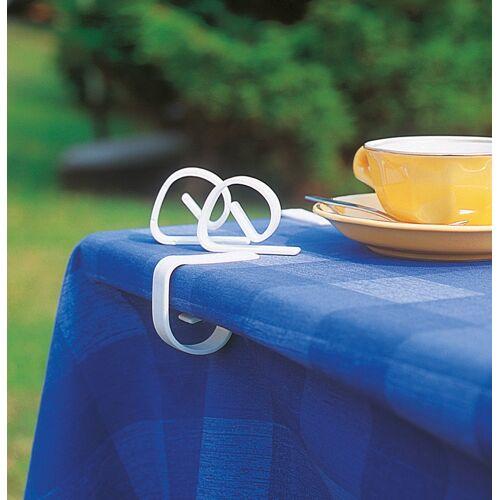 Ruco Tischklammer, Kunststoff B/H/L: 1 cm x 3 weiß Tischklammer RUCO Haushaltshelfer