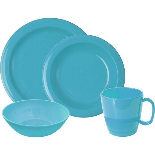 WACA Frühstücks-Geschirrset, (Set, 8 tlg.) Einheitsgröße blau Frühstücks-Geschirrset Frühstücksset Eierbecher Geschirr, Porzellan Tischaccessoires Haushaltswaren