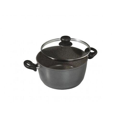 STONELINE Kochtopf, Aluminiumguss, (1 tlg.) Ø 16 cm schwarz Kochtopf Suppentöpfe Töpfe Haushaltswaren