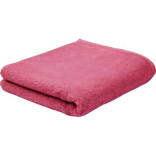 ROSS Handtuch Sensual Skin, (2 St.), mit Aloe Vera veredelt B/L: 50 cm x 100 St.) rot Handtücher Badetücher