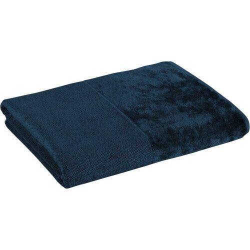 Möve Handtuch MÖVE Bamboo Luxe Handtuch, (1 St.) B/L: 50 cm x 100 blau Handtücher Badetücher