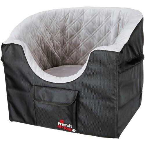 TRIXIE Hunde-Autositz, für kleine Hunde, BxL: 45x42 cm B/H/L: 45 x 39 42 schwarz Hunde-Autositz Hundebetten -decken Hund Tierbedarf