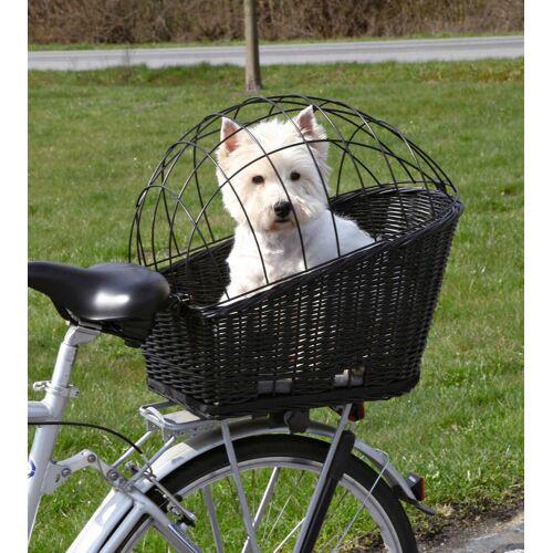 TRIXIE Tierfahrradkorb, bis 8 kg, BxTxH: 36x53x55 cm B/H/T: 36 x 55 53 schwarz Tierfahrradkorb Hundetransport Hund Tierbedarf