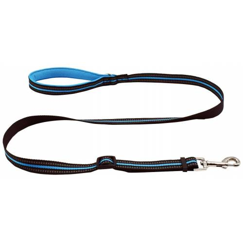 HEIM Hundeleine Signal, Länge: 140 cm 1,4 m blau Hundeleinen Hund Tierbedarf