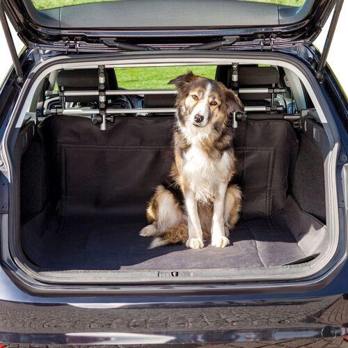 TRIXIE Tier-Kofferraumdecke, BxL: 120x150 cm B/L: 120 x 150 schwarz Tier-Kofferraumdecke Hundebetten -decken Hund Tierbedarf