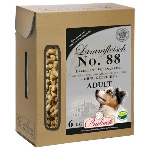 Bubeck Trockenfutter Lamm, Kartoffel und Amaranth Mix, (1), 6 kg Gesamt-Menge: 6000 g (1 Stück) braun Hundefutter Hund Tierbedarf