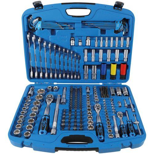 BGS Werkzeugset, (Set, 218 St.) Einheitsgröße blau Werkzeugset Werkzeugkoffer Werkzeug Maschinen