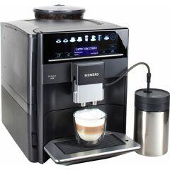 SIEMENS Kaffeevollautomat EQ.6 plus s400 TE654509DE, automatische Reinigung, 2 individuelle Profile, inkl. Milchbehälter im Wert von UVP 49,90 TOPSELLER Einheitsgröße schwarz Kaffee Espresso SOFORT LIEFERBARE Haushaltsgeräte