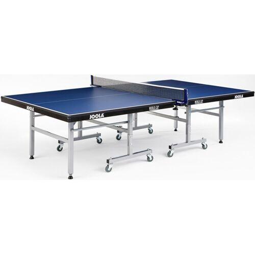 Joola Tischtennisplatte JOOLA Indoor-Tischtennisplatte World Cup Einheitsgröße blau Tischtennis-Ausrüstung Tischtennis Sportarten