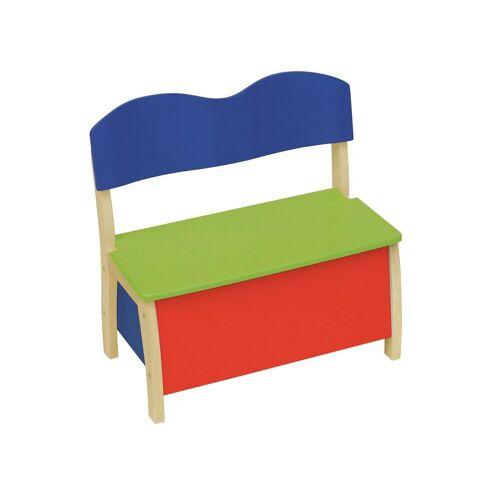 roba Truhenbank Kinderbank, bunt B/H/T: 62 cm x 33 Kinder Kinderstühle Kindermöbel