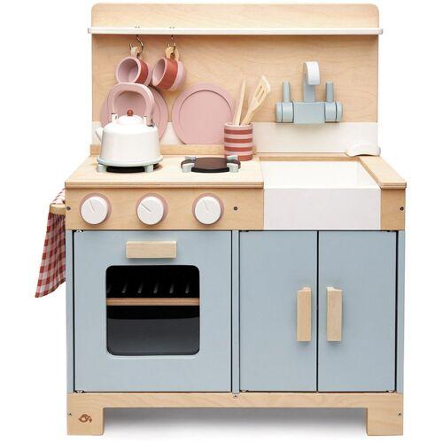 Tender Leaf Toys Spielküche Kinderküche grau, aus Holz Einheitsgröße grau Kinder Kinderküchen Zubehör Kaufladen