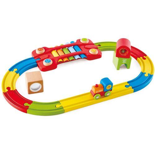 Hape Spielzeug-Eisenbahn Eisenbahn der Sinne-Set, aus Holz Einheitsgröße bunt Kinder Holzspielzeug
