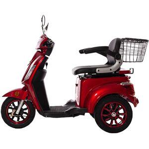 GreenStreet Elektromobil E-Mover, 800 W, 20 km/h, inkl. Korb Einheitsgröße rot Elektromobile Motorroller Mofas