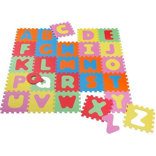Knorrtoys Puzzle Alphabet, Puzzlematte, Bodenpuzzle Einheitsgröße bunt Kinder Ab Geburt Altersempfehlung