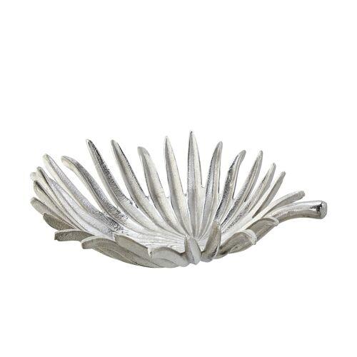 Dekoschale ¦ silber ¦ Metall ¦ Maße (cm): B: 33 Dekoration > Dekoschalen - Möbel Kraft