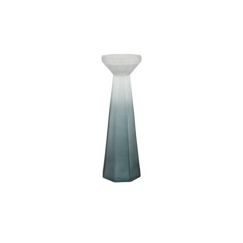 Kerzenständer ¦ grün ¦ Glas  ¦ Maße (cm): H: 33  Ø: [11.0] Dekoration > Kerzen & Lichter > Kerzenständer - Möbel Kraft
