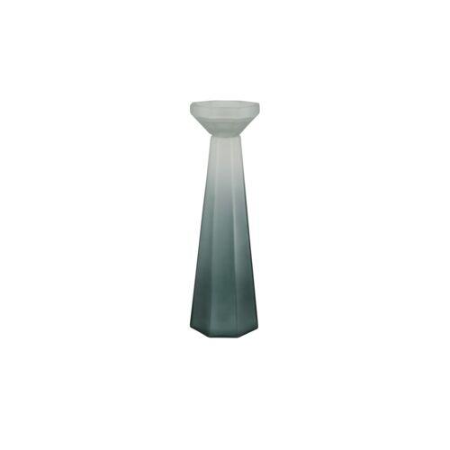 Kerzenständer ¦ grün ¦ Glas  ¦ Maße (cm): H: 43  Ø: [14.0] Dekoration > Kerzen & Lichter > Kerzenständer - Möbel Kraft