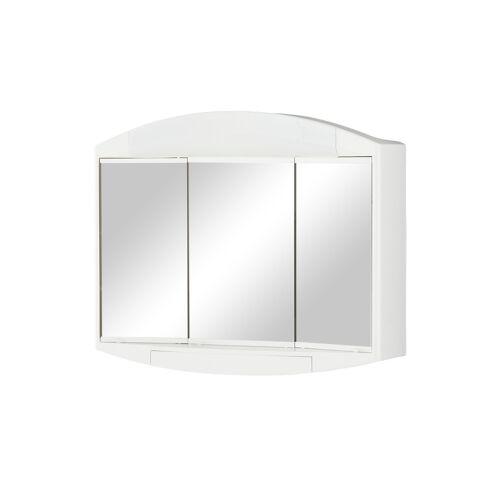 Spiegelschrank ¦ verspiegelt ¦ Maße (cm): B: 59 H: 49 T: 15,5 Schränke > Badschränke > Spiegelschränke - Möbel Kraft
