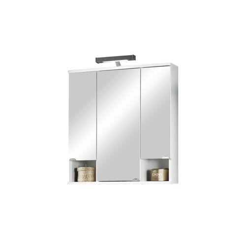 Bad-Spiegelschrank ¦ Maße (cm): B: 67 H: 73 T: 16,5 Schränke > Badschränke > Spiegelschränke - Möbel Kraft