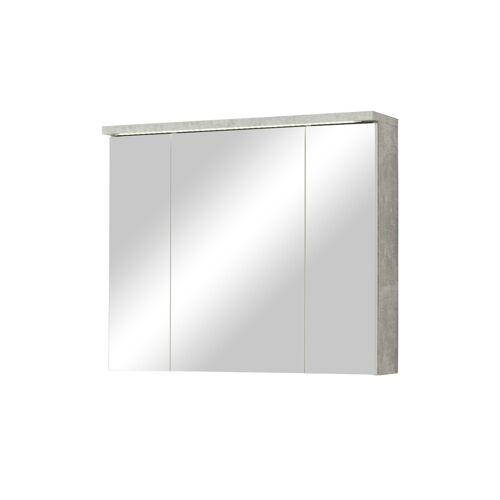 Spiegelschrank ¦ Maße (cm): B: 80 H: 69 T: 20 Schränke > Badschränke > Spiegelschränke - Möbel Kraft