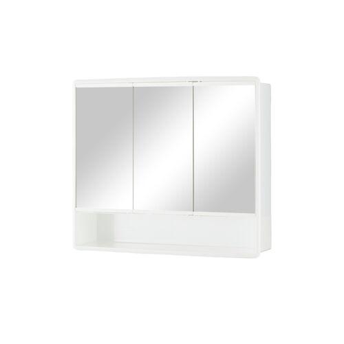 Spiegelschrank ¦ verspiegelt ¦ Maße (cm): B: 58 H: 49,5 T: 14,5 Schränke > Badschränke > Spiegelschränke - Möbel Kraft