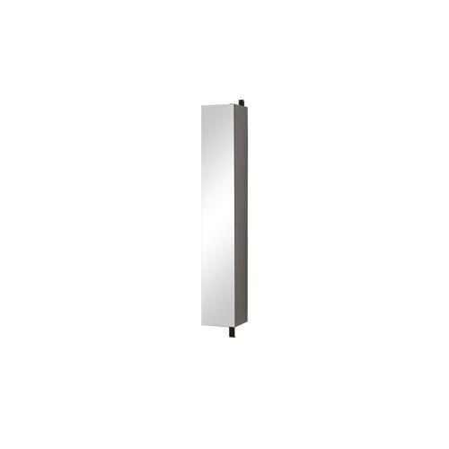Spiegelschrank ¦ schwarz ¦ Maße (cm): B: 29 H: 186 T: 30 Schränke > Badschränke > Spiegelschränke - Möbel Kraft