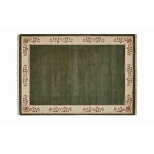 Nepal-Teppich ¦ grün ¦ Wolle ¦ Maße (cm): B: 70 Teppiche > Wohnteppiche > Naturteppiche - Möbel Kraft