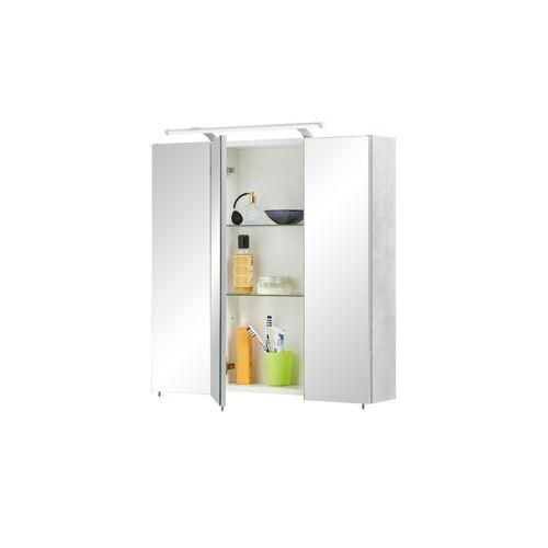 Spiegelschrank ¦ Maße (cm): B: 70 H: 75 T: 16 Schränke > Badschränke > Spiegelschränke - Möbel Kraft