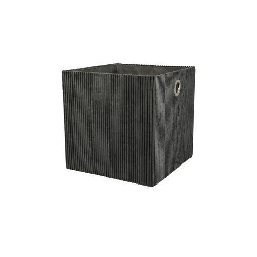Aufbewahrungsbox ¦ grau ¦ Karton ¦ Maße (cm): B: 30 H: 30 T: 30 Aufbewahrung > Aufbewahrungsboxen - Möbel Kraft