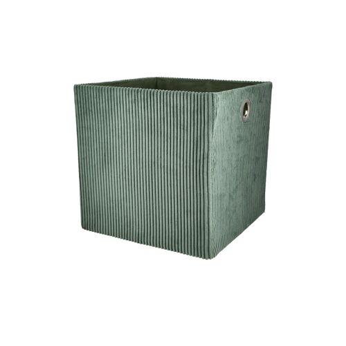 Aufbewahrungsbox ¦ grün ¦ Karton ¦ Maße (cm): B: 30 H: 30 T: 30 Aufbewahrung > Aufbewahrungsboxen - Möbel Kraft