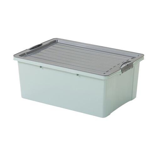 Rotho Aufbewahrungsbox mit Deckel ¦ grün ¦ Maße (cm): B: 40 H: 25 Aufbewahrung > Aufbewahrungsboxen - Möbel Kraft