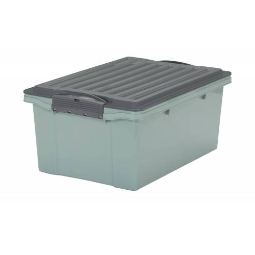 Rotho Aufbewahrungsbox mit Deckel ¦ grün ¦ Maße (cm): B: 27,5 H: 18 Aufbewahrung > Aufbewahrungsboxen - Möbel Kraft