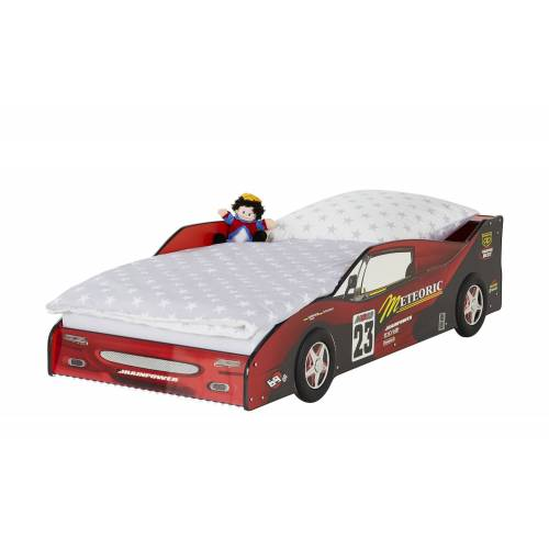 Autobett-Gestell ¦ rot ¦ Maße (cm): B: 95 H: 55 T: 208 Kindermöbel > Kinderbetten - Möbel Kraft
