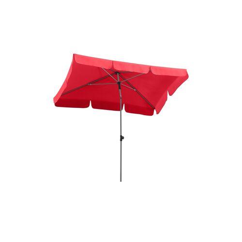 Sonnenschirm ¦ rot ¦ Maße (cm): B: 180 H: 220 T: 120 Garten > Sonnenschutz > Sonnenschirme - Möbel Kraft